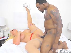 milf Alura Jenson makes her daughters bf observe as she gets penetrated