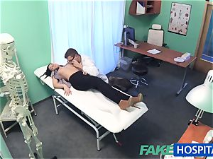 fake hospital super-fucking-hot tat Patient cured with rock-hard cock