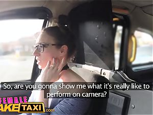 nymph fake taxi Belgium porno guy smashes wondrous cabbie