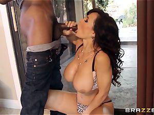 cuckold wife Lisa Ann bi-racial bang