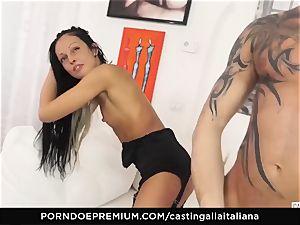 audition ALLA ITALIANA - nasty orgy with local inexperienced