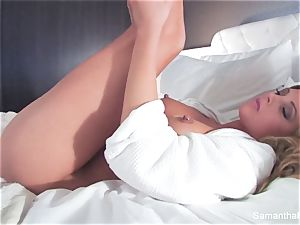 A red-hot hotel apartment fuck session with Samantha Saint