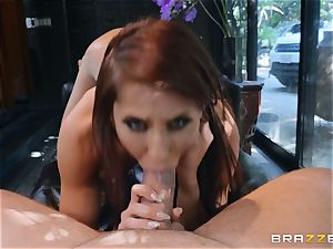 Madison Ivy gets her vulva pleased by dangled Kieran