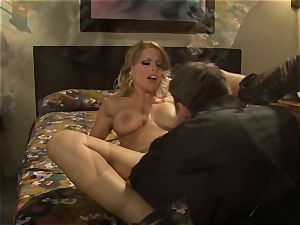 torrid escort Britney Amber picks up a successful punter