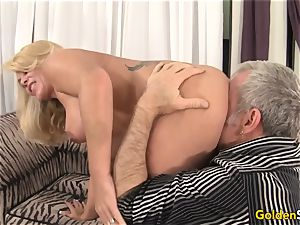 sumptuous and mature Crystal Taylor gonzo