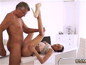 2 daddies hardcore eventually she s got her boss dick