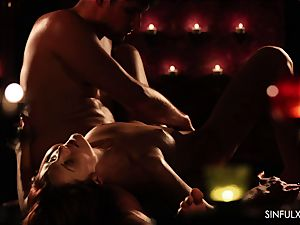 passionate duo screws after massage