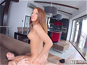 All internal Aylin likes dirty internal ejaculation action