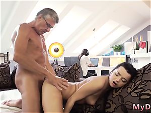 elderly fellow cum shot and daddy spying on chum patron s daughter-in-law xxx What would you choose -