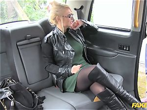 faux cab rubdown therapist works her magic