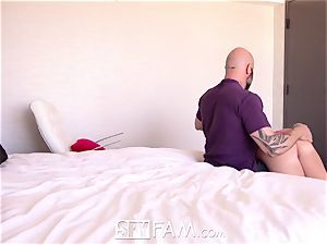 SpyFam Step father cums into step daughter Bailey Brooke