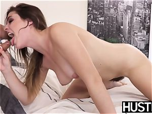 Lascivious Kendra Lynn catapults poon with stepbros schlong