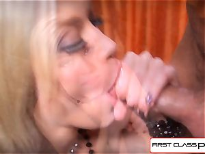 FirstClassPOV - see Ash Hollywood blowing a gigantic dick