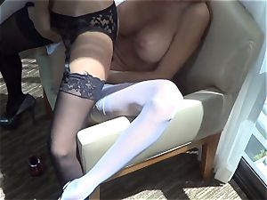 Trinity St. Clair Gives a molten Lap Dance