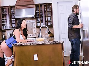 curvaceous housewife Angela milky is worth a rock-hard drill