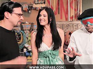 cougar Busters India Summer pounded with pop-shot