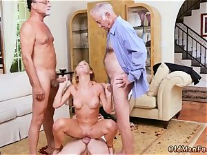 Step daddy ass fucking Frannkie And The gang Tag team A Door To Door Saleswoman