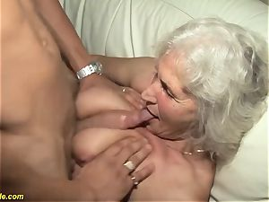 75 years old grandmother very first porno movie