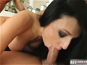 Aletta Ocean's cooter hosts 2 gigantic cum loads