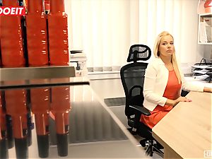 LETSDOEIT - super-hot assistant penetrated hardcore At audition