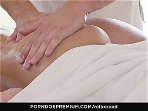 RELAXXXED - Amirah Adara softcore massage and torrid bang-out