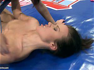 mega-bitch Tiffany nymph licks on this hoes gash fluff