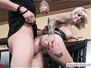 tattooed Kleio Valentien 69ing a man-meat