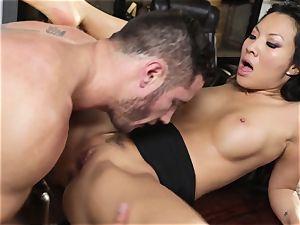 Asa Akira cheats in her pals wild desire