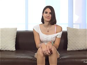 Ayn Marie at her first-ever porno audition