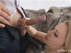 Mia Malkova railing on a throbbing man-meat