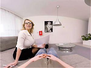 VR PORN-Busty educator Katerina Hartlova