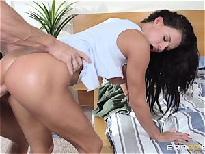 Frustrated Peta Jensen gets the drill she dreams