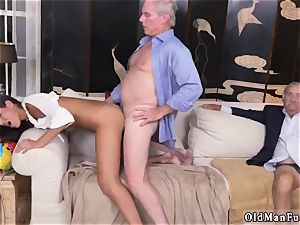 black-haired cougar blowjob Frannkie bought her a piñata and a sombrero.