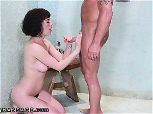 Shh.. I tough plumbed inexperienced masseur My wife Cant Know