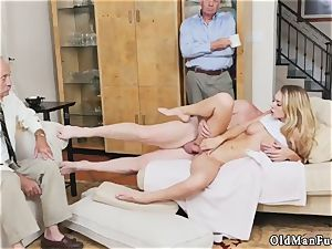 father care and breakfast hand job older dude Molly Earns Her Keep