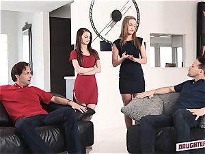 April Brookes and Farrah Valentine exchange punishment