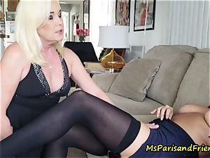 aunt Paris seduces Her step-sister
