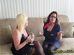 aunt Paris seduces Her step-sister