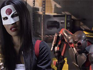 Suicide squad parody Sn 4 Ada Akira railing black stiffy