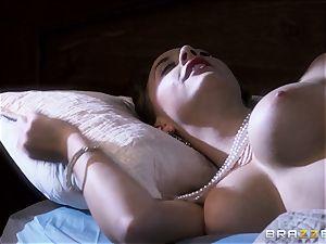 Chanel Preston thirsts Johnny Sins yam-sized man-meat