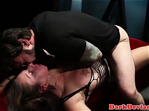 busty chokeplay cumslut harshly disciplined