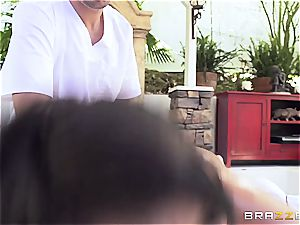 big-titted Peta Jenese receives hard-core massage