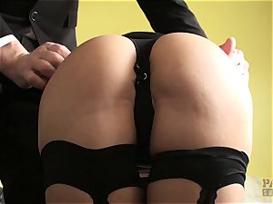 PASCALSSUBSLUTS - steaming Julia de Lucia gagged and ravaged firm