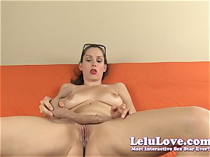 YOUR secretary undresses and screws faux-cock for you the manager