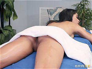 sensual rubdown turns into a sensual nail
