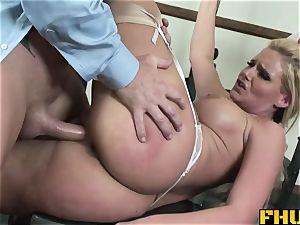 FHUTA medic giving Phoenix Marie a total