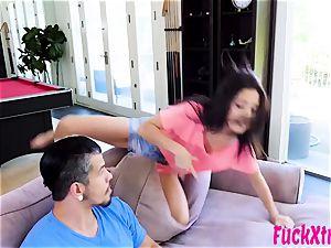 Selena Stone drill rigid mischievous teenager lil' twat