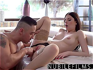 NubileFilms - super-hot pummel With Step-Daddy After mother Leaves