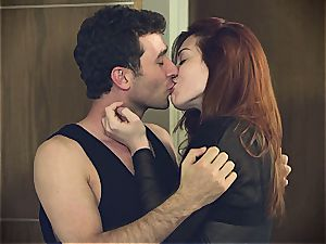 Sparks fly between Stoya and James Deen