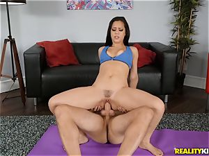 Alina Lopez opening up out before the fun starts